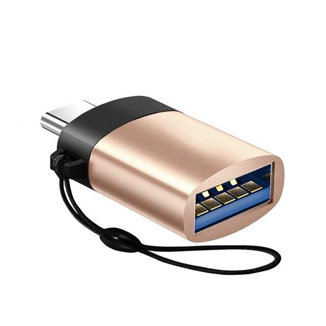 Loại C để USB 3.0 OTG Cable Adapter Loại C Adapter USB C Chuyển Đổi đối Với Samsung Galaxy S9 Huawei p20 macBook USB OTG Bộ Chuyển Đổi