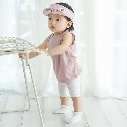 New Summer Baby boys girls Shorts Solid Color Elastic Waist Regular Style Combed Cotton Shorts Good Quality 6-12M/12-24M infant
