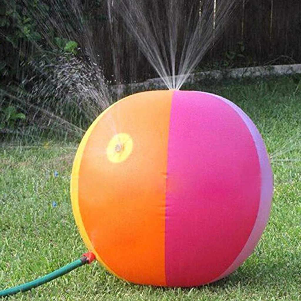 Надувной шар-распылитель диаметром 30 в, водный шар для улицы, веселая игрушка 2019, надувные мячи для газона, цветной пляжный разбрызгиватель A513