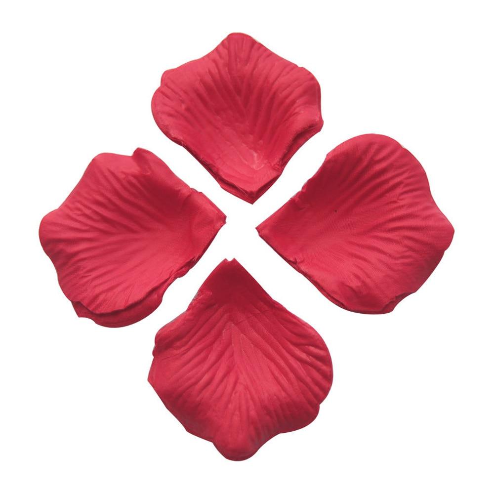 decoraciones con petalos de rosa secos