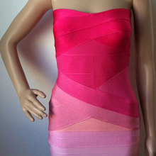 Buy Pink Purple Striped Dress And Get Free Shipping On Aliexpresscom