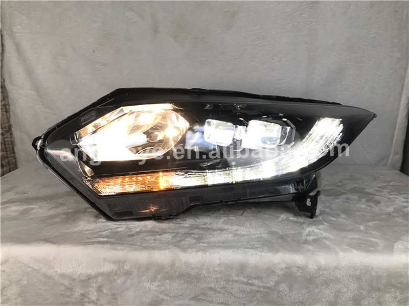 2016 Year For <font><b>HONDA</b></font> <font><b>HRV</b></font> HR-V Vezel LED Head Lamp SN black Housing SN image