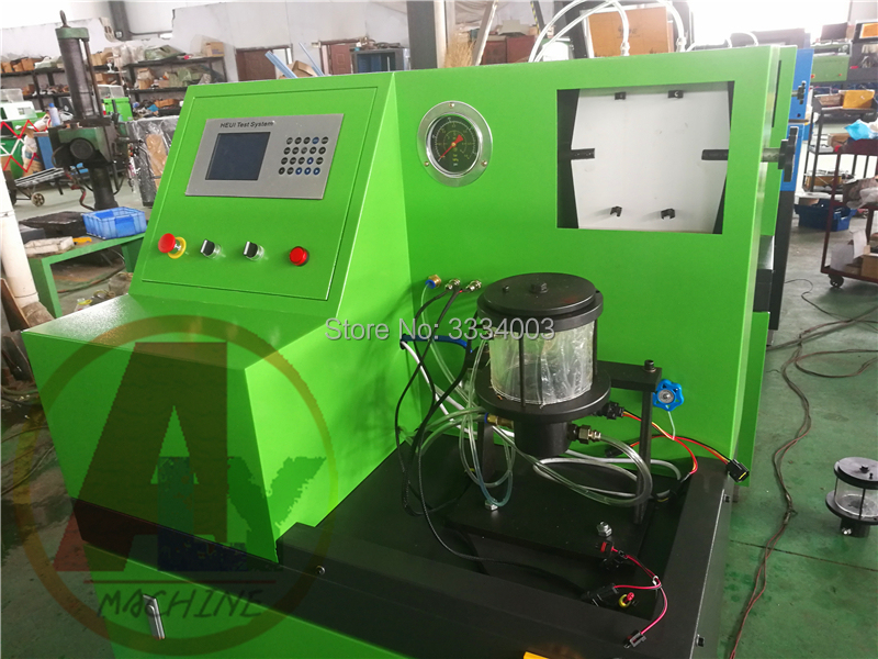 AM-CT796 Medium pressure common rail injector test bench for CAT C7 C9  3126B HEUI injectors, common rail HEUI injector tester