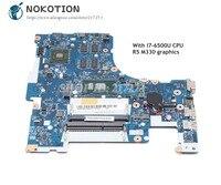 NOKOTION 5B20K81156 BMWD1 NM A491 For Lenovo 300 17ISK Laptop Motherboard SR2EZ I7 6500U CPU Radeon R5 M330 graphics