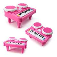 Electone Mini Elektronische Keyboard Musical Spielzeug mit Mikrofon Bildungs Elektronische Klavierspielzeug für Kinder Kinder Babys