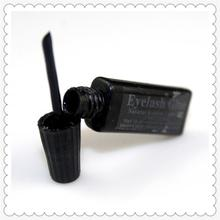 2 ml Eyelash glue plastic tube flat Travel black false eyelashes glue makeup essential tool недорого
