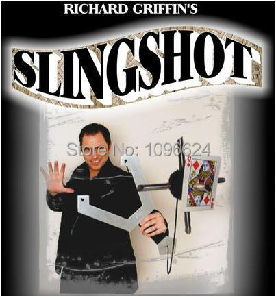 The Slingshot (Gimmick and DVD) - Magic Trick,Accessories,card mental stage close up magic props,illusions наручные часы casio mtd 1053d 2a