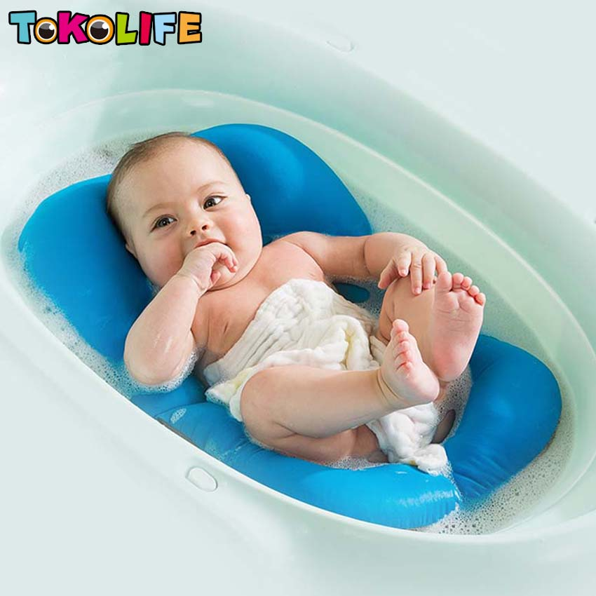 buy newborn baby bath tub seat baby bath tub rings net children bathtub infant. Black Bedroom Furniture Sets. Home Design Ideas