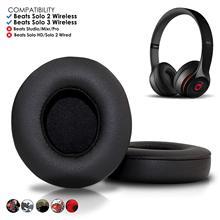 купить Beats Solo 2 & 3 Wireless Earpad Replacement - Beats Solo Cushion Replacement for Solo 2 & 3 Wireless On Ear Headphones онлайн