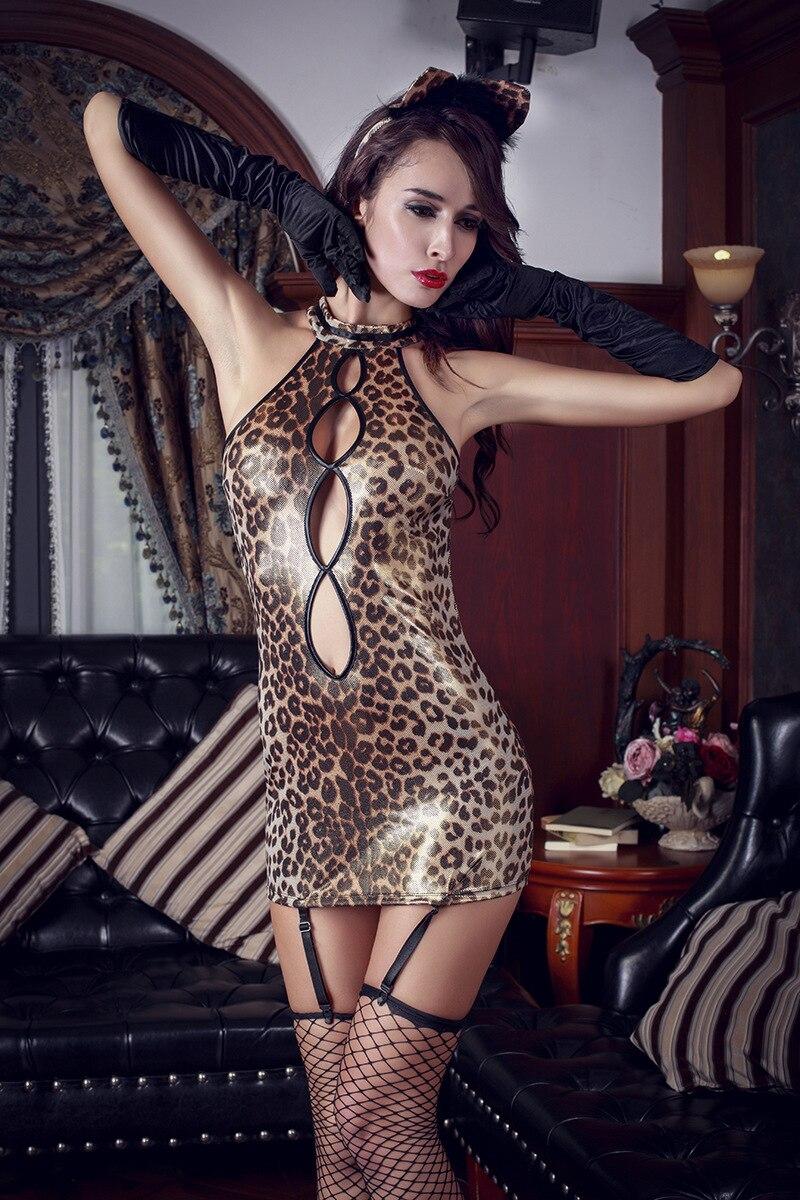 Sex party cat suit