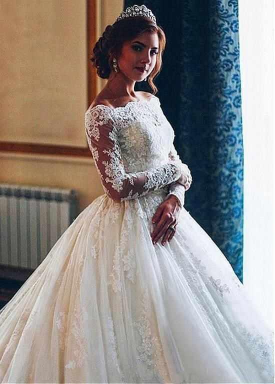 SHJ313 Vestidos De Novia Свадебные кружевные платья с длинными рукавами 2019 Alibaba старый по выбору пользователя невесты Новый Модный халат De Mariee