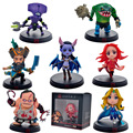 11 Tipos!!! 8-12 cm Lina Dota 2 Figura Kunkka Pudge Cazamareas Reina de Dolor Crystal Maiden Boxed Acción PVC Figuras juguete