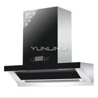 Нержавеющая сталь кухня вентилятор сбоку всасывания Тип Диапазон капот бытовой Touch управление масла дым экстрактор CXW 228
