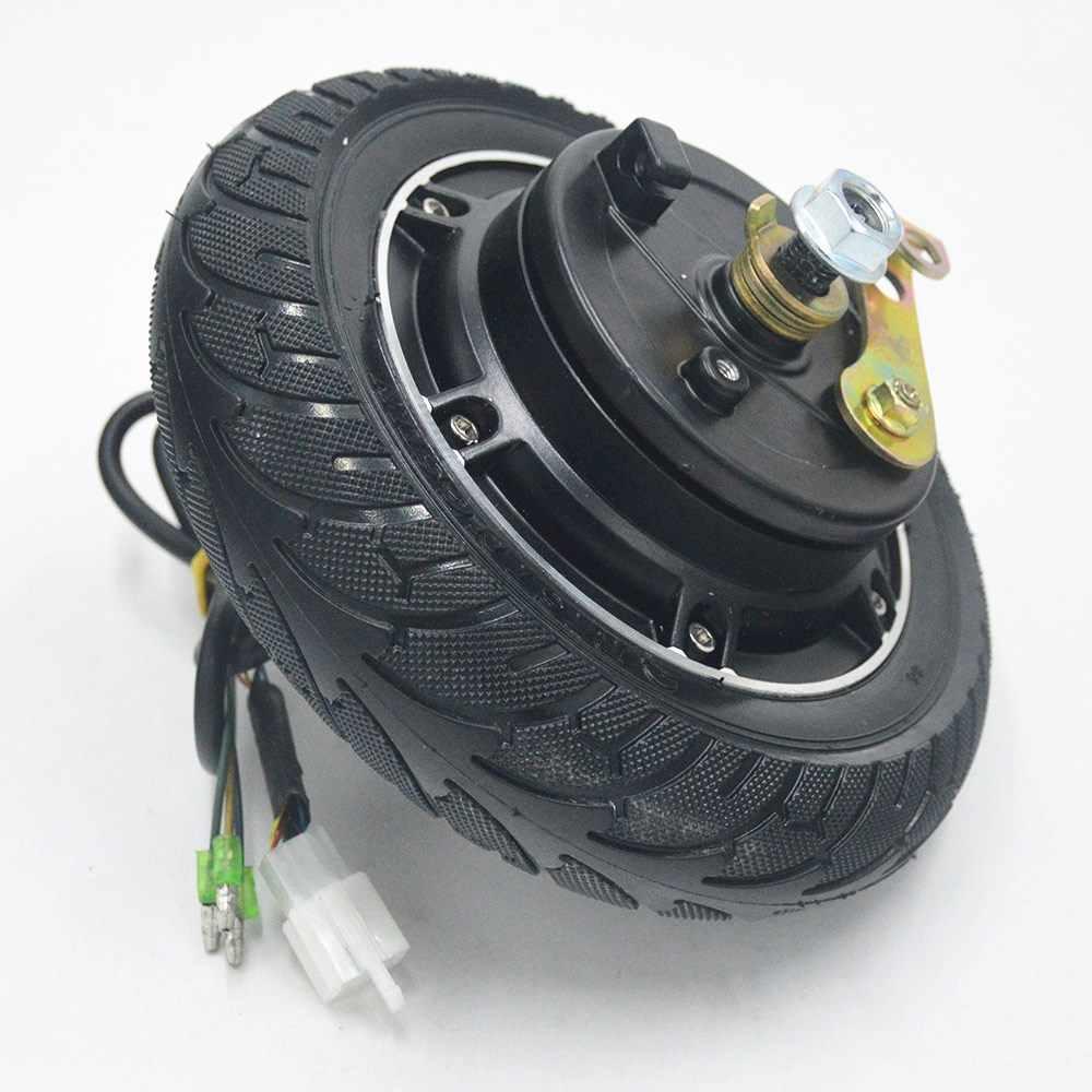 Elektryczny skuter piasta koła silnik 24V 36V 48V 350W dc bezszczotkowy bezzębny koła skuter koła rower rower silnik
