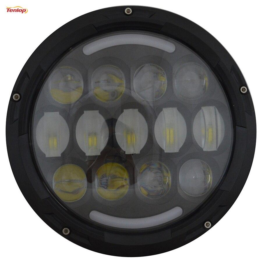 Phare LED de feux de croisement universels 7 pouces 78 W pour Wangler Defender Haley 12 V 24 V