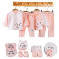 18 pièces/ensemble coton nouveau-né vêtements bébé vêtements ensemble infantile tenue enfant en bas âge costume bébé filles garçons vêtements ensemble nouveau-né cadeaux