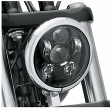 DOT Approved 5-3/4 Inch 45W Daymaker Projector LED Headlight For Harley-Davidson Motorcycles