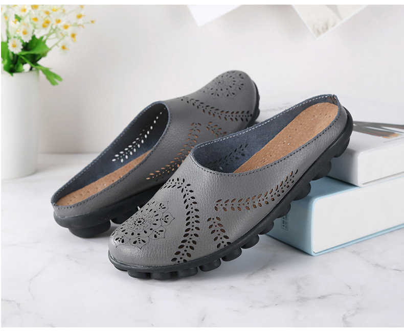 XY 991 Cut Outs Women's Summer Flats Shoes -11