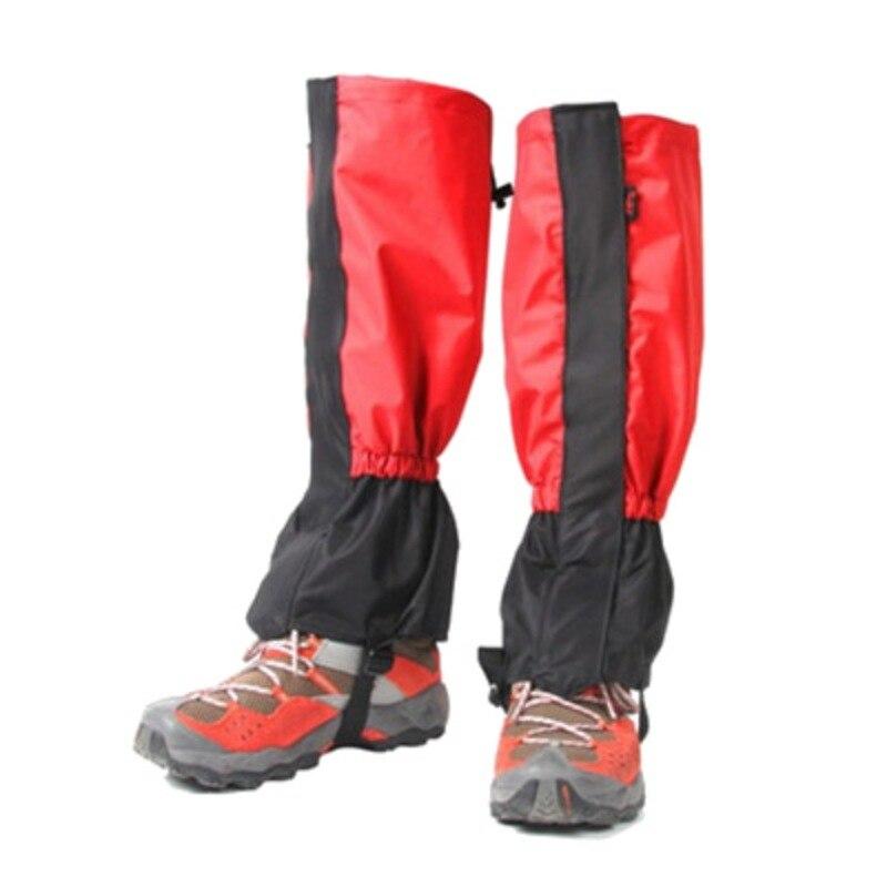 Waterproof Cycling Shoe Cover Men Women Kids Ski Boots Snow Gaiters Outdoor Hiking Climbing Skiing Leg Legging