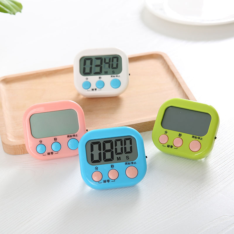 Multi-purpose Digital Timer Kitchen Timer Cooking Timer Electronics Count Down Cooking Remind Alarm Magnet Kitchen Supplies Tool
