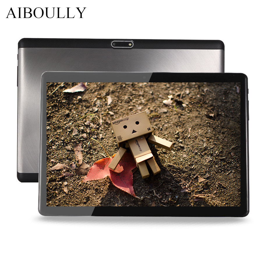 AIBOULLY Original Android Tablet PC 10.1 inch 1920x1200 3G LTE Phone Call Tablets Android 7 OS Octa Core 4G RAM 1280*800 Tab 8'' lnmbbs 8 inch internet phone call android 7 0 tablets sims 4g 8 core lte 1280 800ips 4 32g wifi gps mobile phone call tablets