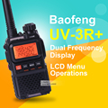 Baofeng uv-3r além disso mini hf transceiver walkie talkie dual band dual display rádio em dois sentidos handheld transceiver walkie talkie