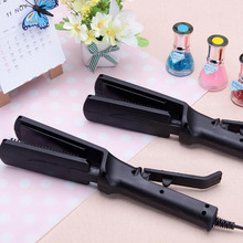 2017 New Black Professional Hair Electronic Straightener Irons Temperature Portable Ceramic Straightening Styling Tools