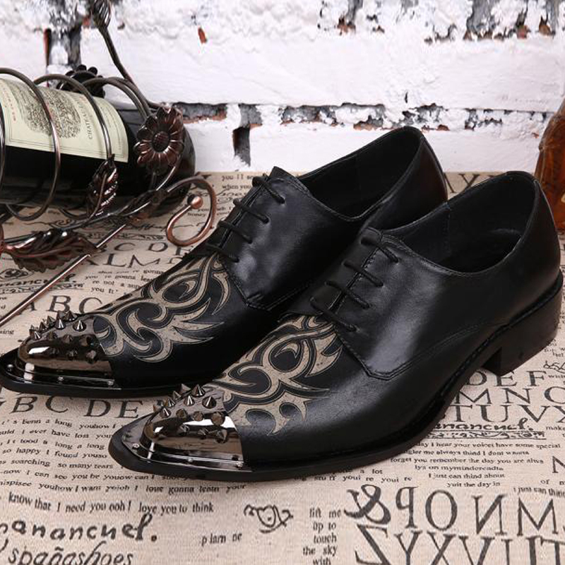 2017 Fashion Italian Men Shoes Pointed Toe Men Oxfords Shoes Lace-Up Men Wedding Formal Dress Shoes Brogues Men Flats Plus Size men fashion oxfords pointed toe retro