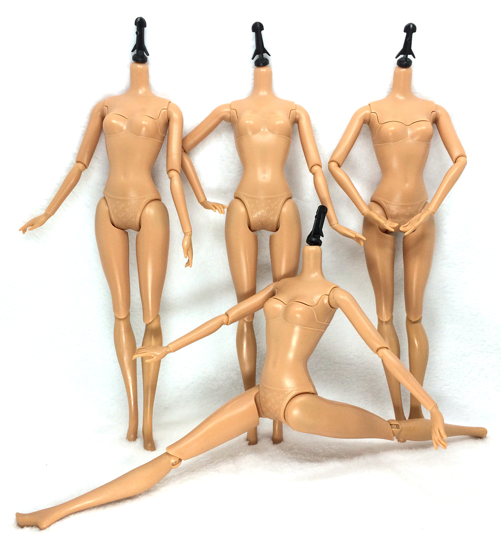NK One Pcs Original Brand Doll 's Body 12 Jointed Movable Nude Doll  About 30cm 11.8 inch Accessories For Barbie Doll декоклей где в симферополе