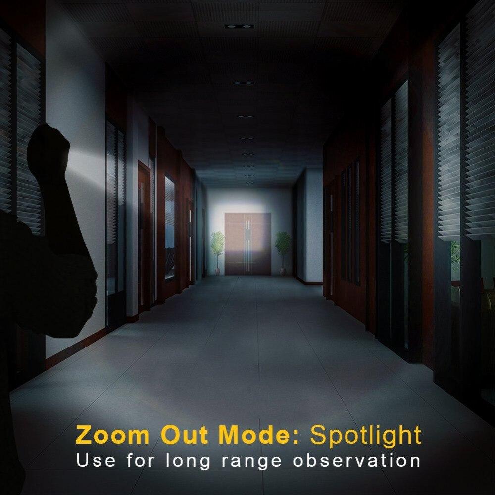 Lanternas e Lanternas mini lanterna tática torch zoomable Distância de Iluminação : 200-500 m