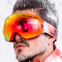 JULI Brand Professional sunglasses Double Lens UV400 Anti-fog Adult Goggles Women Men Snow Eyewear OTG BNC