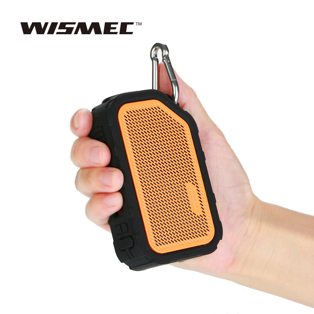 Original WISMEC Active Bluetooth Music TC Box MOD with 2100mAh Built-in Battery & 0.91 Inch OLED Screen Waterproof Design Mod original wismec active bluetooth music tc box mod with 2100mah built in battery