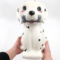 Super Big Spot Dog Squishy Slow Rising kawaii Animal Large Dog Soft Squeeze Squisi Charms Scented Kids Toy Antistress Gifts