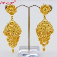 Adixyn India Swing Bollywood Ethnic Earrings For Women Gold Color/Copper Manual Jewelry Party/Birthday Gifts N082617