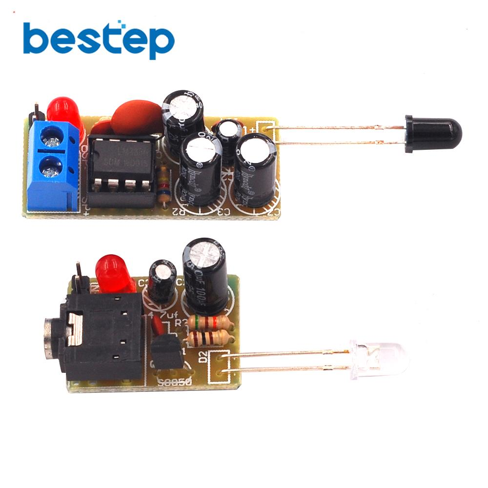 DIY Kit Infrared Wireless Module WIFI IR Sound Voice Infrared Transmission Module Suite El