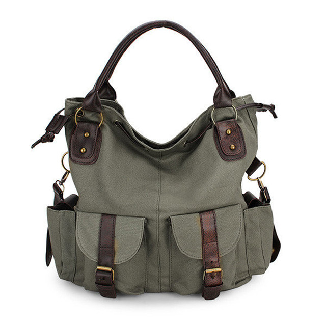 Women Canvas Handbag Large...