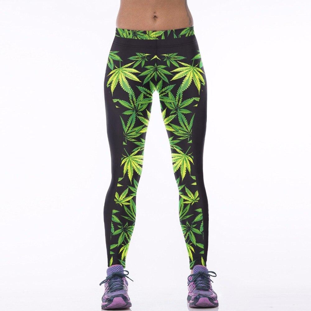 Yoga-Pants Leggings Prints Fitness High-Waist Girl Sport Running Women New 031 Comics