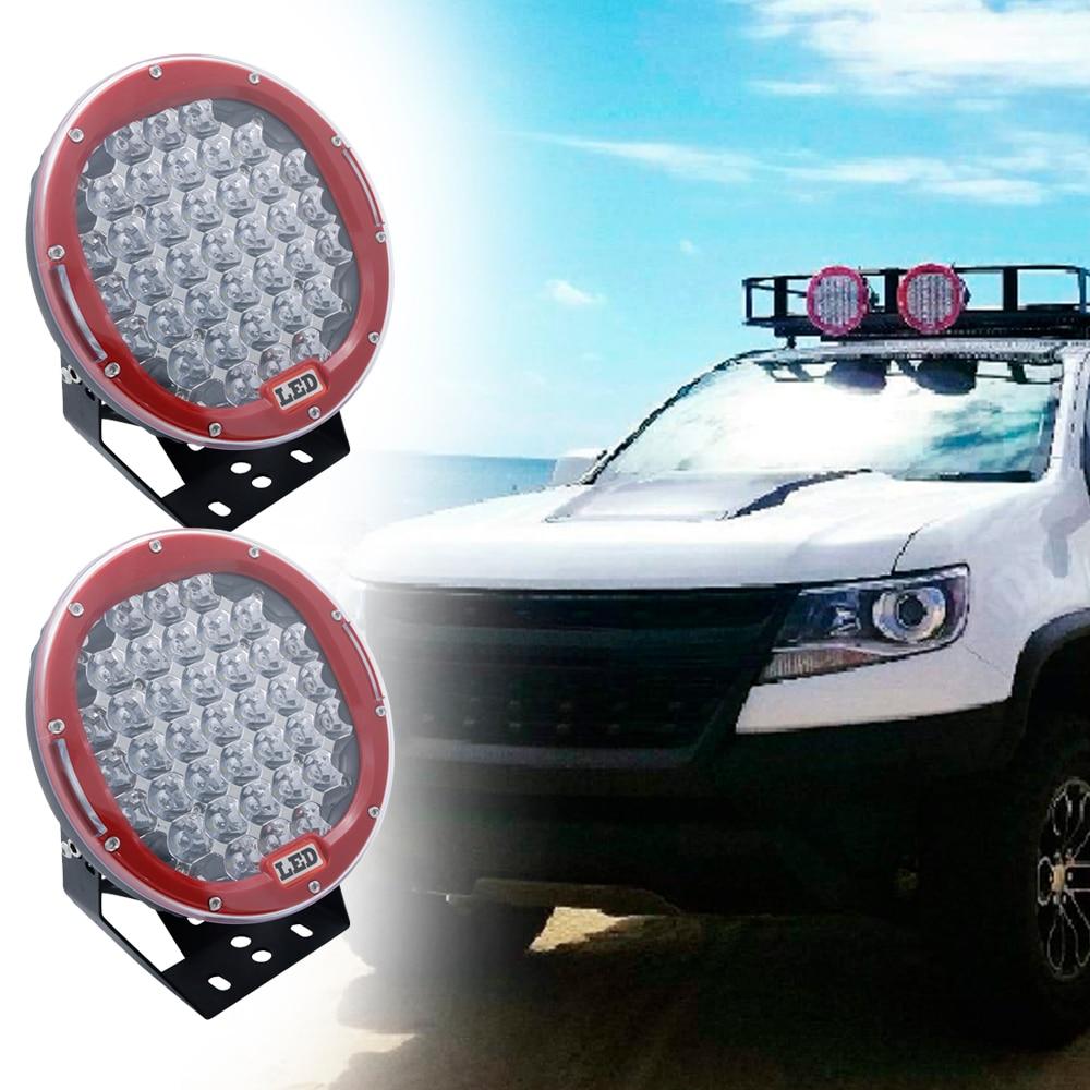 2PCS 9 Inch Led Work Light 12V 24V Spot Flood Offroad Light Bar Indicators For SUV Car Truck Bus Boat Tractor Working Lights (6)