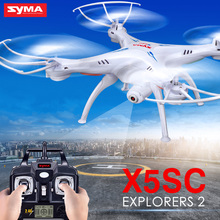 SYMA Brand Remote Control Quadcopter Childrens Outdoor Hobby RC Drone with Camera Remote Control Helicopter Free Shipping