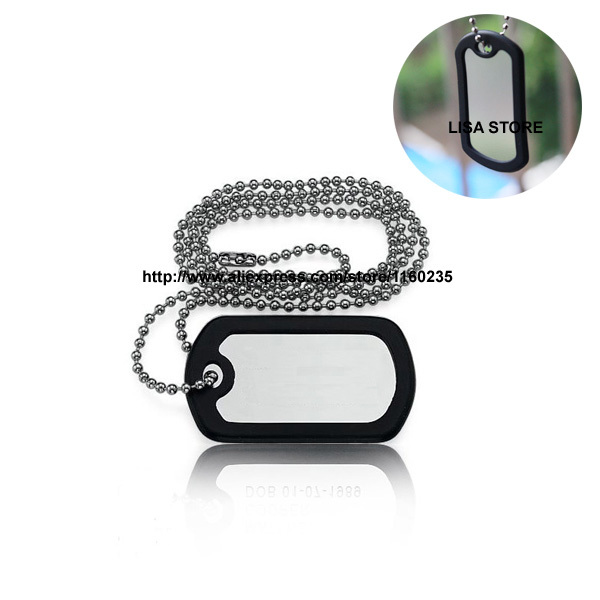 how to make military dog tags at home
