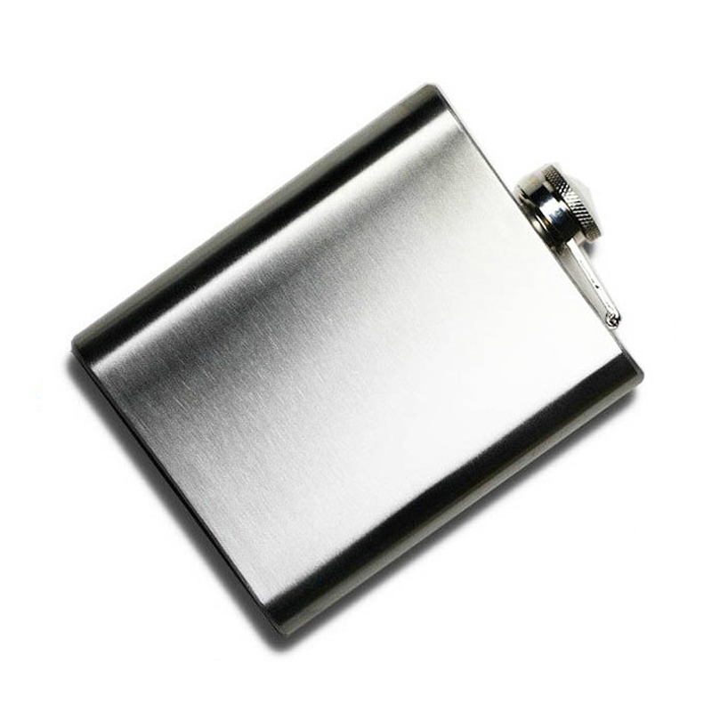 Stainless Steel Hip Flask - 4 oz to 10 oz 5