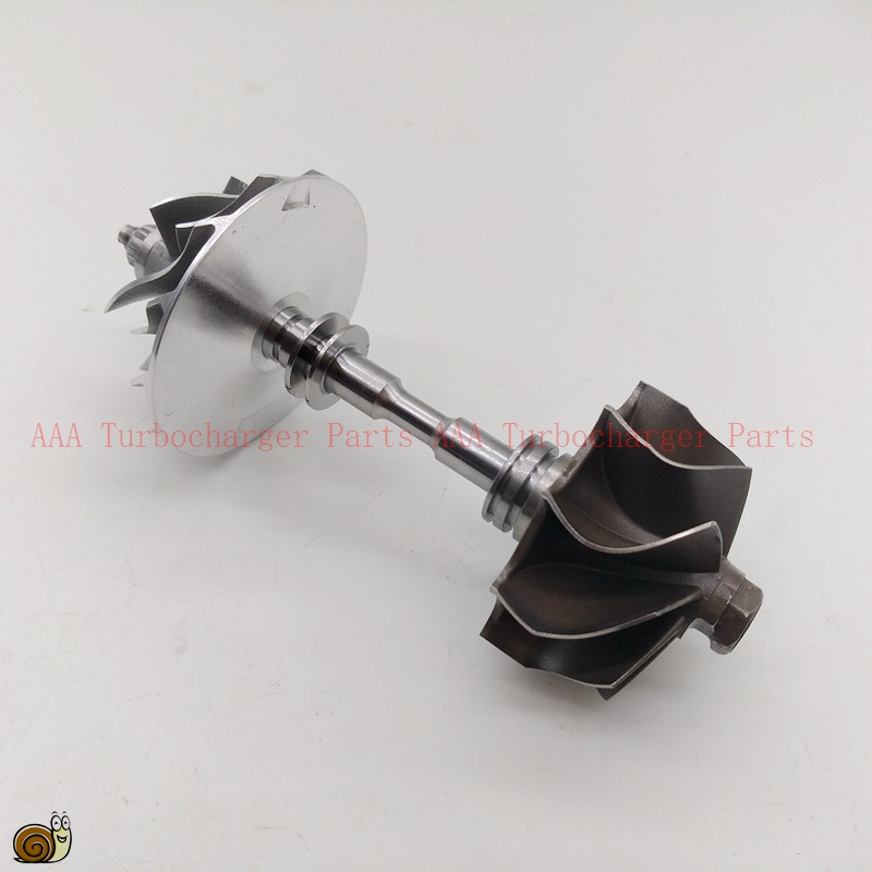 Gt1852v turbina 39.85x44.3mm, COM rueda 36.8x52mm parte Turbo 709836-5004 S, 709836-0004, a6110960899, AAA Turbocompresores piezas