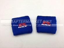 100% Cotton Blue Brake Reservoir Sock GSXR Oil Fluid Tank Cover Sleeve For Suzuki SV1000 GSF1200 DL1000 GSX1400 SV650