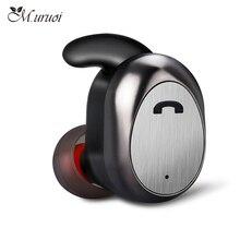 M. uruoi Inear Earbud Fone de Ouvido Sem Fio Bluetooth 4.2 Mini Fone De Ouvido Sem Fio Handsfree Fones de Ouvido Para iphone Xiaomi Huawei kulakl k