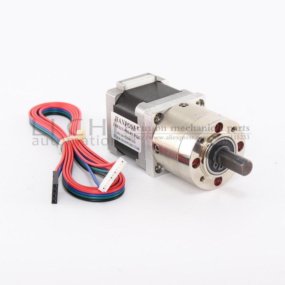 US Ship OSM 19:1 Planetary Gearbox Nema 14 Stepper Motor DIY CNC Robot 3D Camera