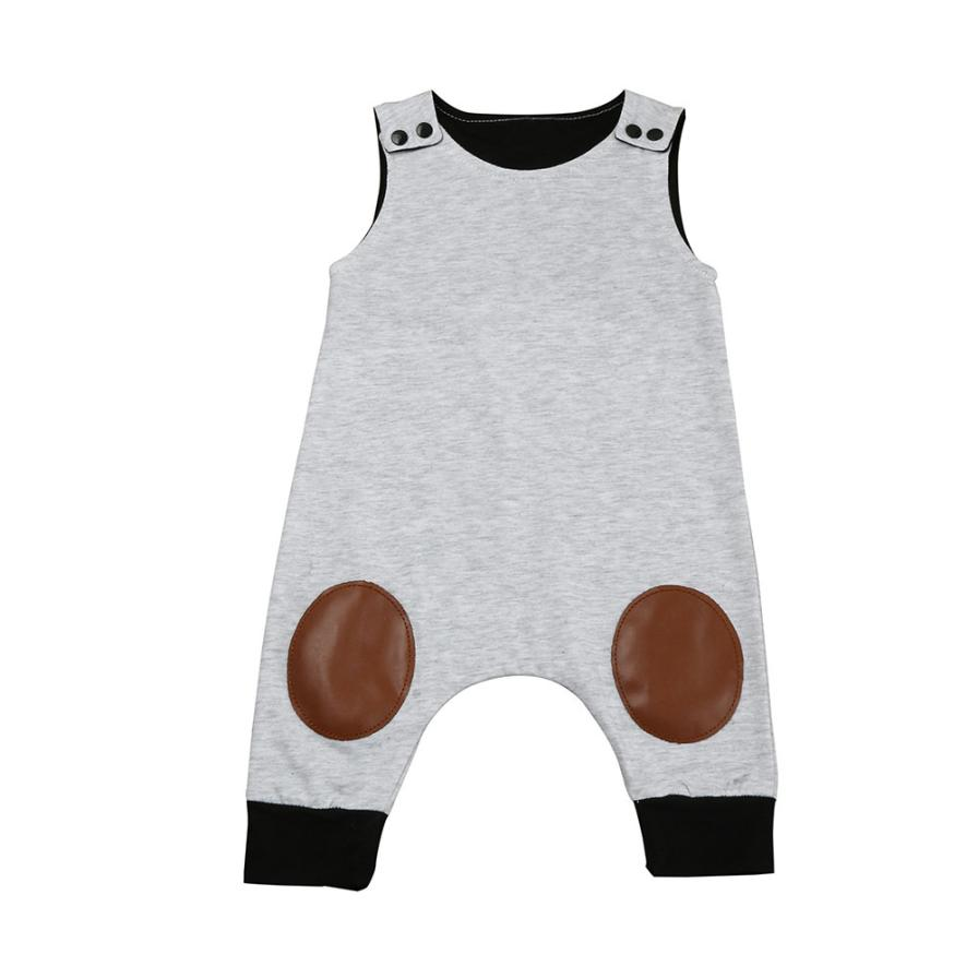 2017 Summer Baby Rompers Newborn Infant Baby Boy Girl Sleeveless Romper Jumpsuit Outfits Patchwork Baby Rompers bebek tulum newborn baby rompers baby clothing 100% cotton infant jumpsuit ropa bebe long sleeve girl boys rompers costumes baby romper
