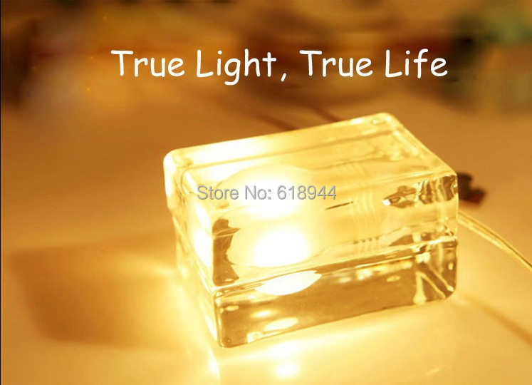 Innovation and unique Ice Block Desk table Lamp creative small ice lamp G9 220V Free shipping composite structures design safety and innovation