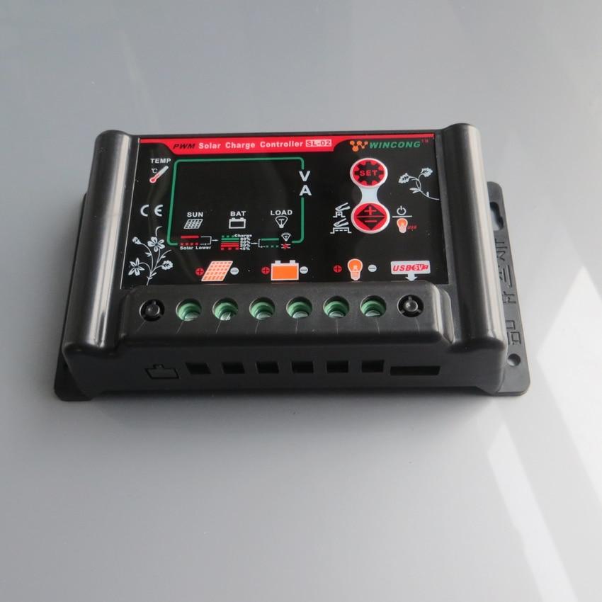 10A 12v/24v Li Li-ion lithium batteries Solar Charge Controller 12v 24v 12.8v 25.6v 11.1v 12.8v 22.2v plastic
