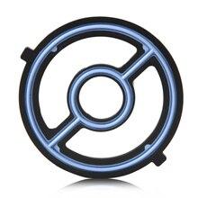 DWCX Oil Cooler Seal Gasket For Mazda 3 5 6 Speed3 Speed6 CX7 2.0L 2.3L 2.5L 3.0L Engine