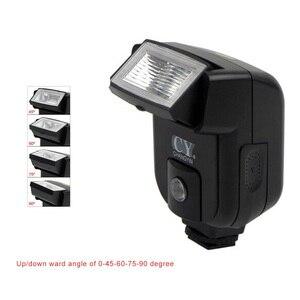 Image 5 - Yinyan CY 20 Giày Nóng Đồng Bộ Cổng 5600K Mini Đa Năng Đèn Flash Cho Máy Ảnh Nikon Canon Olympus Pentax Sony Alpha Máy Ảnh